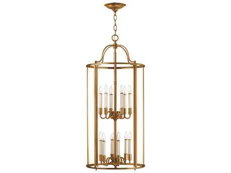 Hinkley Lighting Gentry Heirloom Brass 12-Light Mini-Chandelier