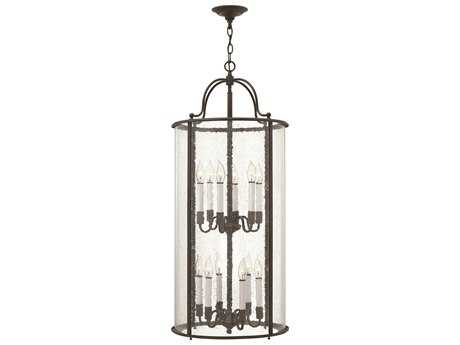 Hinkley Lighting Gentry Olde Bronze 12-Light Mini-Chandelier