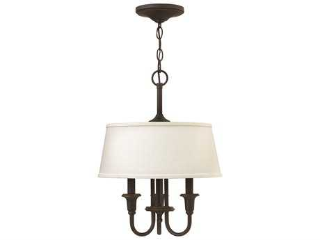 Hinkley Lighting Webster Oil Rubbed Bronze Three-Light Mini-Chandelier