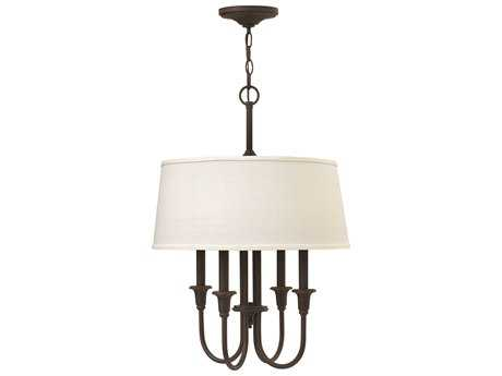 Hinkley Lighting Webster Oil Rubbed Bronze Four-Light Mini-Chandelier