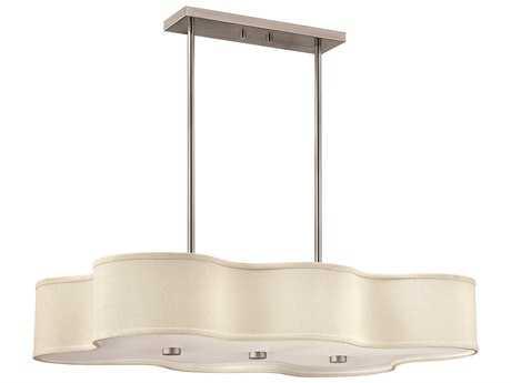 Hinkley Lighting Cirrus Brushed Nickel LED Island Light