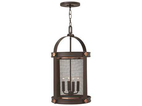 Hinkley Lighting Holden Buckeye Bronze Four-Light Mini-Chandelier