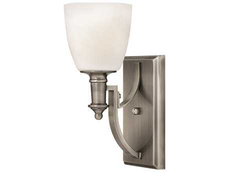 Hinkley Lighting Truman Antique Nickel Wall Sconce
