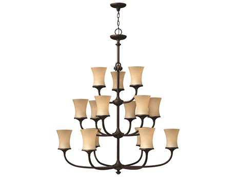 Hinkley Lighting Thistledown Victorian Bronze 15-Light 41.5 Wide Grand Chandelier