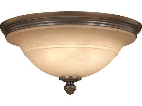 Hinkley Lighting Plymouth Olde Bronze Three-Light Flush Mount Light