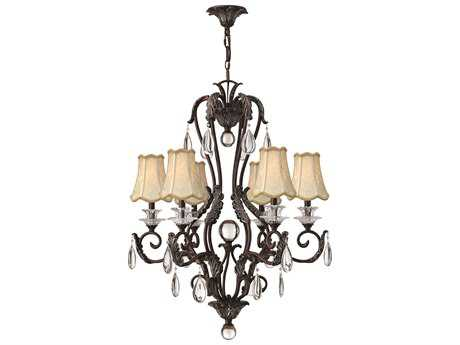 Hinkley Lighting Marcellina Golden Bronze Six-Light 28.5 Wide Chandelier