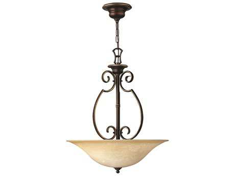 Hinkley Lighting Cello Antique Bronze Three-Light Pendant Light HY4564AT