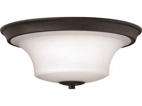 Hinkley Lighting Brantley Textured Black Three-Light Incandescent Flush Mount Light