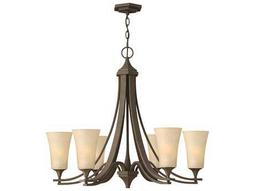 Hinkley Lighting Brantley Oil Rubbed Bronze Six-Light 29.75 Wide Chandelier