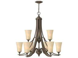 Hinkley Lighting Brantley Oil Rubbed Bronze Nine-Light 33.25 Wide Chandelier