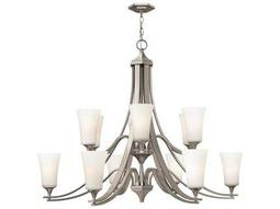 Hinkley Lighting Brantley Brushed Nickel 12-Light 43 Wide Chandelier