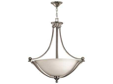 Hinkley Lighting Bolla Brushed Nickel Four-Light CFL Pendant Light