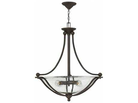Hinkley Lighting Bolla Olde Bronze Four-Light 30'' Wide Incandescent Pendant Ceiling Light