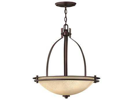 Hinkley Lighting Stowe Metro Copper Three-Light Pendant Light