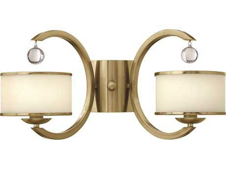 Hinkley Lighting Monaco Brushed Caramel Two-Light Wall Sconce