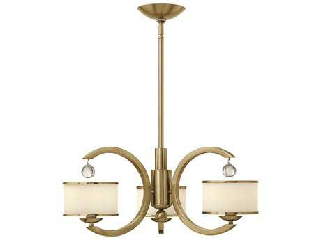 Hinkley Lighting Monaco Brushed Caramel Three-Light 25.25 Wide Chandelier
