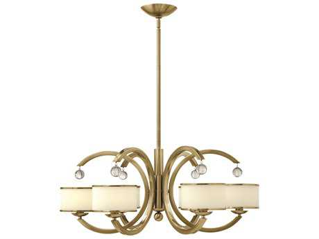 Hinkley Lighting Monaco Brushed Caramel Six-Light 31.5 Wide Chandelier