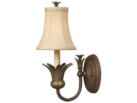 Hinkley Lighting Plantation Pearl Bronze Wall Sconce