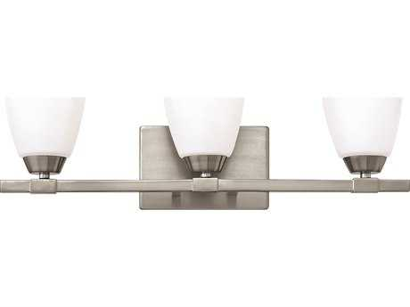 Hinkley Lighting Jordan Brushed Nickel Three-Light Vanity Light