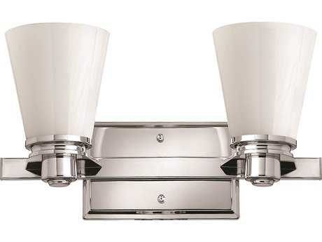 Hinkley Lighting Avon Chrome Two-Light CFL Vanity Light