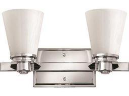 Hinkley Lighting Avon Chrome Two-Light LED Vanity Light