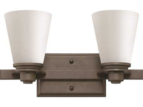 Hinkley Lighting Avon Buckeye Bronze Two-Light CFL Vanity Light
