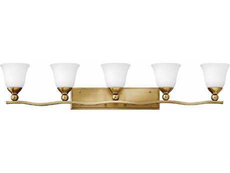 Hinkley Lighting Bolla Brushed Bronze Five-Light 45.75'' Wide Incandescent Vanity Light