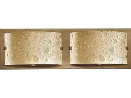Hinkley Lighting Daphne Brushed Bronze Two-Light LED Vanity Light