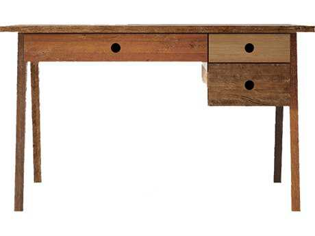 ION Design Brooklyn Reclaimed Hard Wood Three Drawer 51'' x 27.5'' Accent Desk