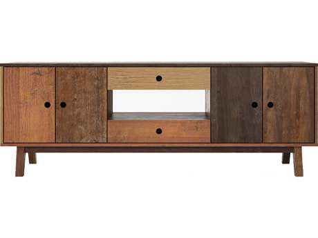 ION Design Brooklyn Reclaimed Hard Wood 83'' x 17'' Media Unit