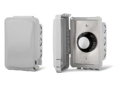 Infratech In Wall Control Assemblies With Weather Proof Cover For Exposed Interior Areas