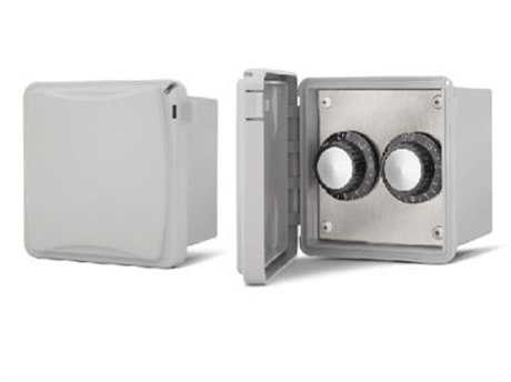 Infratech Surface Mount Control Assemblies: Weather Proof Cover For Exposed Interior Areas - Dual