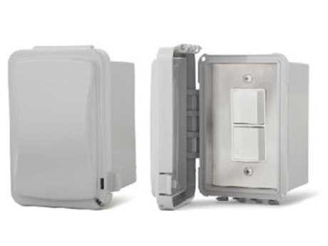 Infratech Surface Mount Duplex Switches Weather Proof Cover For Exposed Exterior Areas PatioLiving