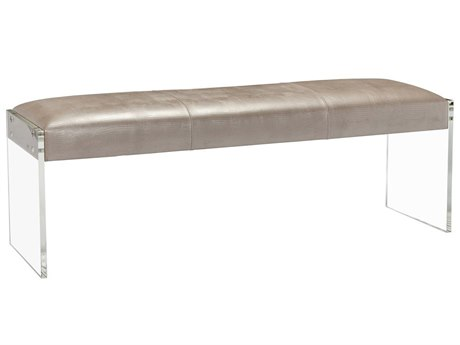 Interlude Home Champagne/ Clear Accent Bench