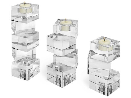 Interlude Home Lulu Set of Three Tealight Holders