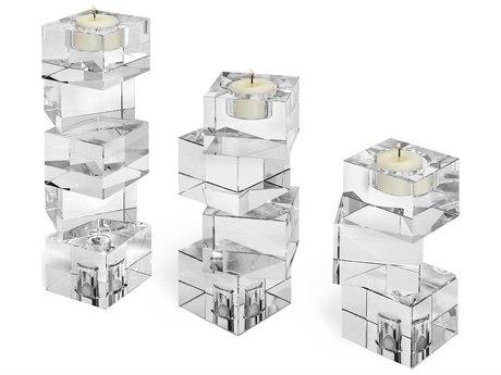Interlude Home Lulu Set of Three Tealight Holders