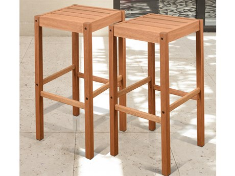 International Home Miami Amazonia Westerdam 2 Piece Barstool Set