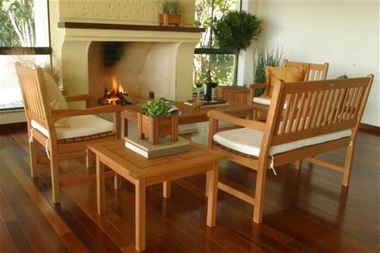 International Home Miami  Amazonia Eucalyptus Five Piece Milano Lounge Set PatioLiving