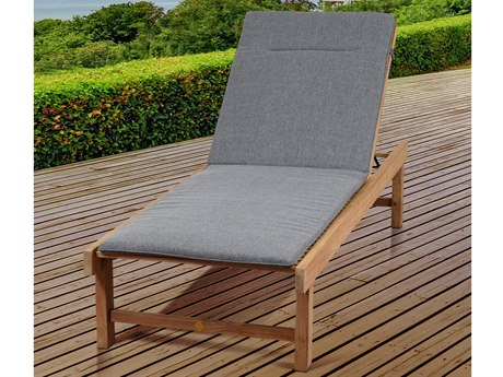 International Home Miami Amazonia Maasdam 2 Piece Teak Lounger Set