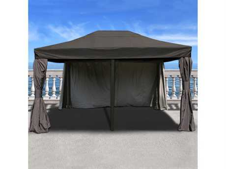 International Home Miami Atlantic Rectangular 12FT x 16FT Aluminum Gazebo