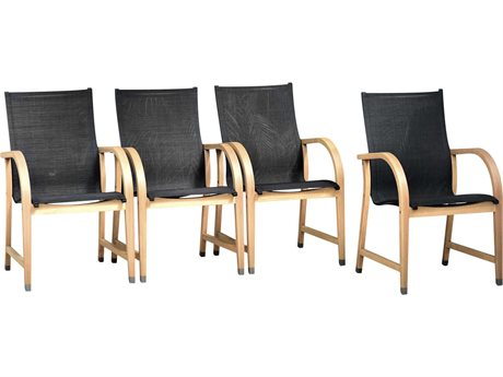 International Home Miami Amazonia Maria 4  Piece Sling Dining Chair Set