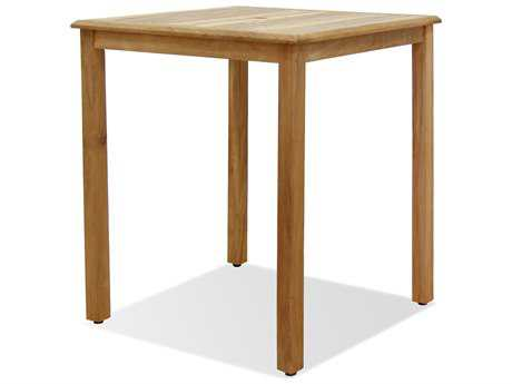 International Home Miami  Amazonia Teak 35 Square Bar Table