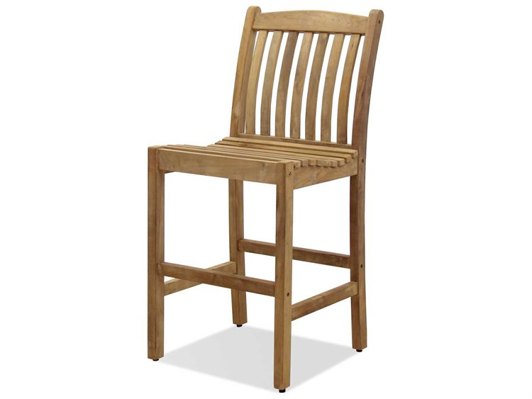 International Home Miami  Amazonia Teak Eden Barstool (2 Piece Set)