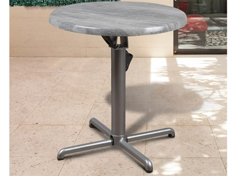 International Home Miami Atlantic Veendam Aluminum Dining Table