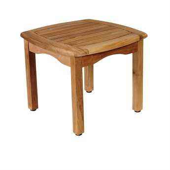 International Home Miami Amazonia Intan Teak 19 Square Side Table