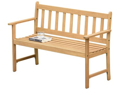 International Home Miami Amazonia Barcelona Wood Bench