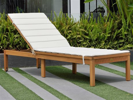 International Home Miami Amazonia Karen Wood Chaise Lounge