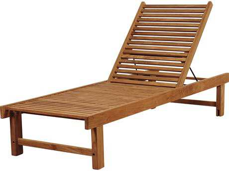 International Home Miami Amazonia Nias Teak Lounger