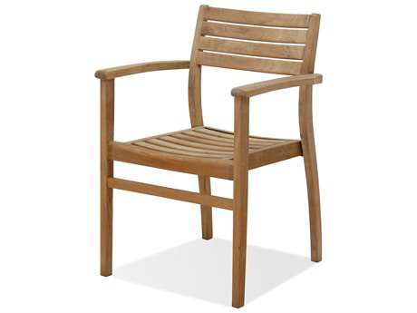 International Home Miami  Amazonia Teak Coventry Dining Arm Chair (4 Piece Set) PatioLiving