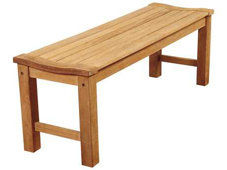 International Home Miami Amazonia Rinjani 51 Teak  Backless Bench